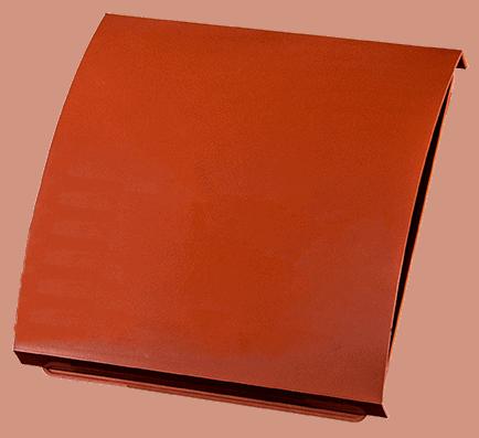 Duka overflade i rød