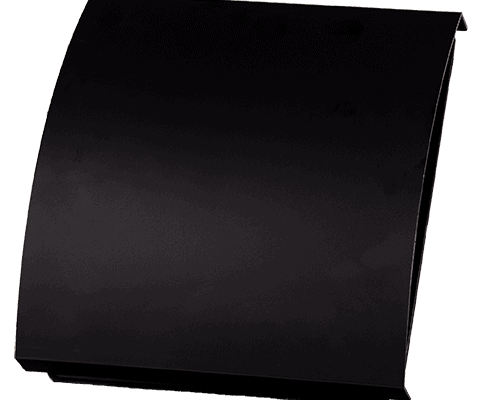 Duka overflade i sort